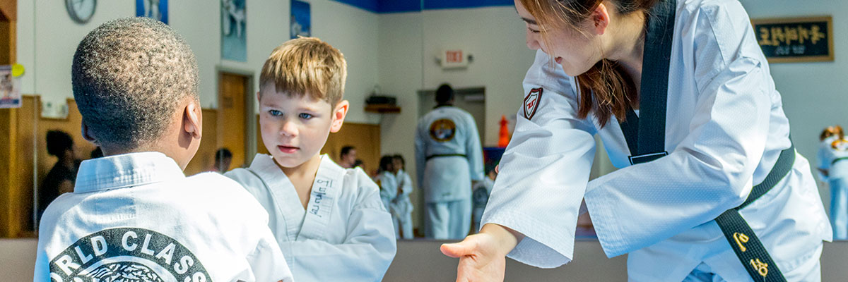 Little Tigers martial arts preschool activity banner image